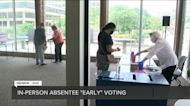 Neil Albrecht discusses early voting locations in Milwaukee