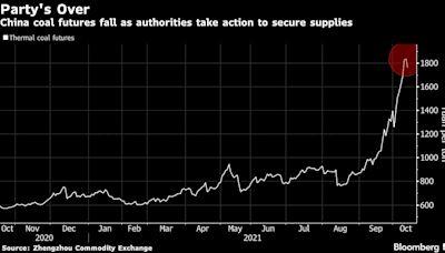 中國多管齊下遏制煤炭瘋漲 發改委研究對煤價實行干預措施