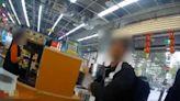 翁逛超商拒戴口罩 勸不聽還嗆警遭送辦