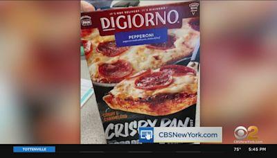 DiGiorno Crispy Pan Pizzas Mislabeled
