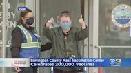 Burlington County Mass COVID-19 Vaccination Center To Celebrate 200,000 Vaccines