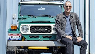 Tom Hanks Is Auctioning Off His Tricked-Out Land Cruiser Next Month