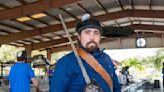 Swordsman And Spokesman: Lake Worth Beach's Spokesperson Teaches Sword-Fighting Basics At Local School