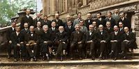 The Solvay Conference, probably the most intelligent picture ...