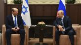 Syria, Iran on agenda as Putin hosts Israel's new PM in Russia