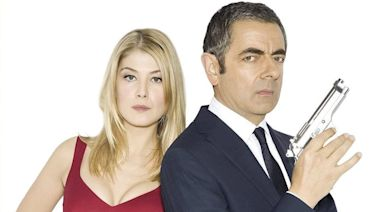 Rosamund Pike: why did the Johnny English Reborn poster give me massive breasts?