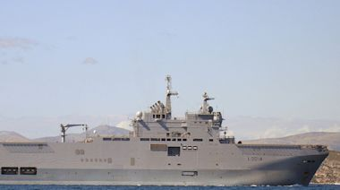 法軍首度參與美日聯合軍演 兩棲攻擊艦進入九州長崎