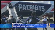 Patriots Plane Will Fly URI Football Team To Upcoming Road Game