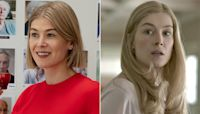 Rosamund Pike compares her cunning antiheroines in I Care a Lot and Gone Girl