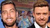 Justin Timberlake REACTS After Lance Bass Calls Him Out on TikTok
