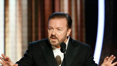Golden Globes: Controversial host Ricky Gervais shares message for Hollywood stars ahead of 2021 ceremony