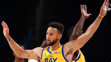 柯瑞第二度連2場至少10記三分球 NBA第一人[影]