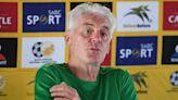 Bafana Bafana coach Hugo Broos' slams FIFA for minimal World Cup slots for African nations