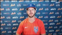 Pete Alonso on Chili Davis firing, new hitting coaches, and analytics | Mets News Conference