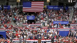 In reversal, Trump disavows criticism of chanting crowd
