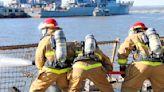 Forging a team: Sailors of the USS Oscar Austin go through the crucible