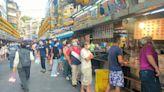 基隆降級首日 廟口夜市開放內用 人潮湧現排隊吃美食   蘋果新聞網   蘋果日報