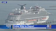 Carnival Cruise Ship Takes Off From Long Beach Port For First Time In 18 Months