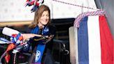 【預計2022服役】由前總統千金卡洛琳擲瓶 美軍新福特級航母「甘迺迪號」祝聖下水