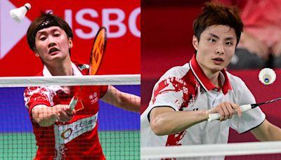 團體賽打完太累了? 陳雨菲、石宇奇退出丹麥公開賽