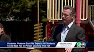 Newsom pushes reopening as many California districts resist