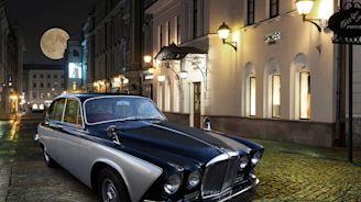 Carbon Motors nos muestra su última restauración hecha a un Jaguar 420 de 1969