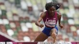 KU's Christina Clemons moves on in Olympics debut, qualifies for 100m hurdles semifinals