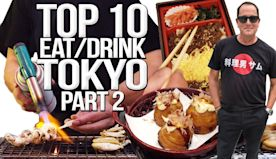 TOP 10 Things to Eat & Drink in Tokyo - Japan Travel Guide (Part 2) | SAM THE COOKING GUY 4K