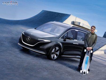 【影片】Mercedes-Benz Concept EQT 絕不概念的七座家庭車