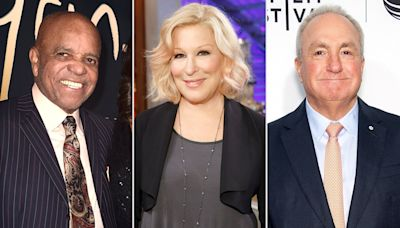 Bette Midler, Lorne Michaels, Berry Gordy Named to 44th Class of Kennedy Center Honorees