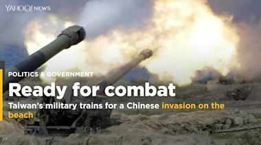 Taiwan's military trains for a Chinese invasion