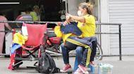 Teresa Montero, la colombiana que protestó con su hijo discapacitado en los hombros envía un mensaje