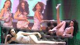 莫文蔚開騷睡袍登場邊唱邊除 騷招牌長腿瞓地扭籮跳熱舞 | 蘋果日報