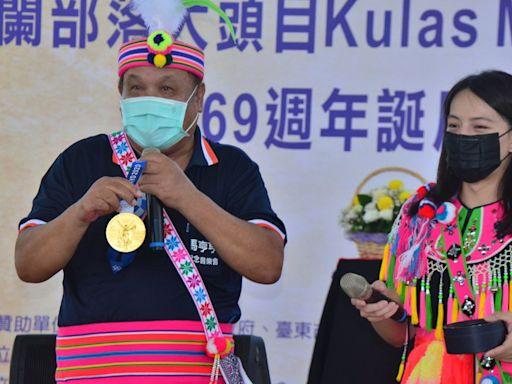 郭婞淳與部落族人分享奧運金牌 (圖)