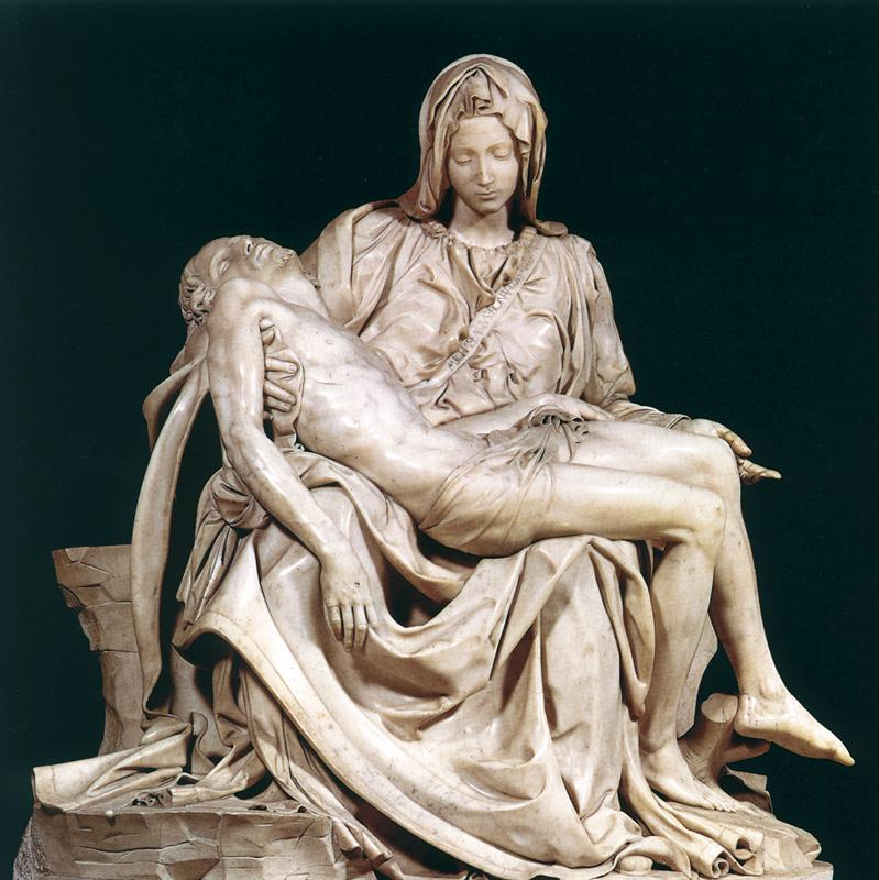 The Pieta, in St. Peter's Basilica
