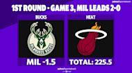 Betting: Bucks vs. Heat | May 27