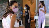 Alessandra Ambrosio visits nail salon for a mani-pedi during Covid-19