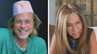 Brad Pitt and Jennifer Aniston Reunite for 'Fast Times' Virtual Table Read