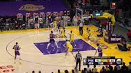 Chris Paul with a 2-pointer vs the Los Angeles Lakers