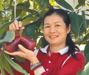 張家芸 堅持種無毒蔬果