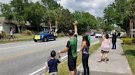 Florida Teachers Organize Parade for Students During Lockdown