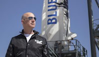 Jeff Bezos is perfectly happy to have gushing journalists slobbering over his space flight