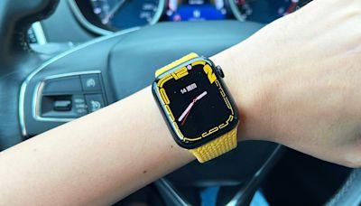 螢幕有感升級!Apple Watch Series 7、玉米橙黃色編織單圈錶環開箱動手玩 | 蕃新聞
