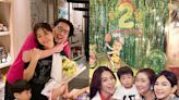 勁寶4歲生日…Ella喜曬全家福 「近距離萌照」電暈網:長大是帥哥