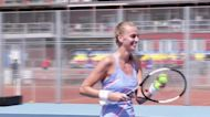 Kvitova wins at all-Czech tennis tournament under strict social-distancing measures