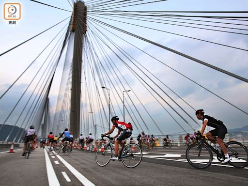 旅發局料11月復辦單車節 路線首次涵蓋港珠澳大橋