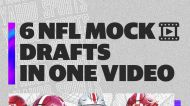 NFL mock drafts from six Yahoo Sports experts