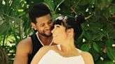Usher and Girlfriend Jenn Goicoechea Spotted on First Outing With Newborn Son
