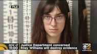 Justice Department Worried Riley Williams Will Destroy Evidence