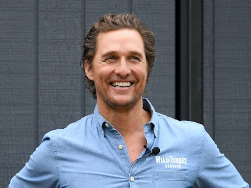 Matthew McConaughey's Son Levi Is His Undeniable Mini-Me in Rare Photo